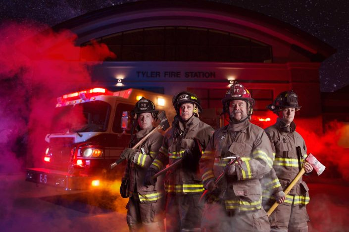 Tyler TX Photographers captured members of our fire department